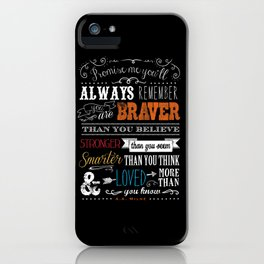 Promise me this iPhone Case