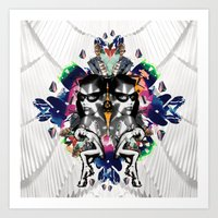 Muse Luxe Art Print