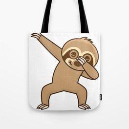 Sloth dab Tote Bag