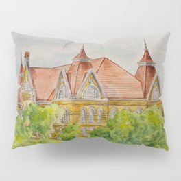 Texas State (SWT) University Old Main Building, San Marcos, TX Pillow Sham