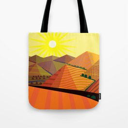 Valle de Guadelupe Eye into a Dream Tote Bag