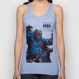 WORLD SERIES: CUBS at INDIANS Unisex Tank Top