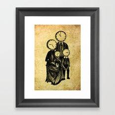 Family Time Framed Art Print