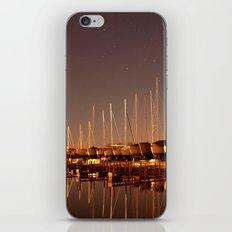 The Docks at Night iPhone & iPod Skin