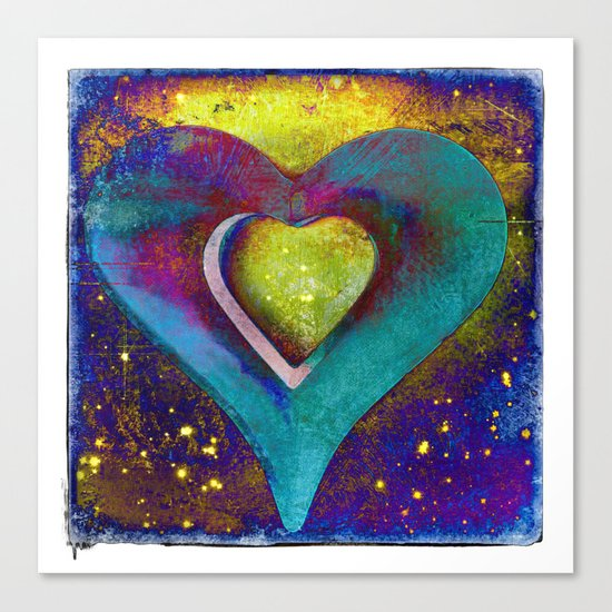 Heart of My Heart Canvas Print