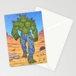Cacto-humanoid Stationery Cards