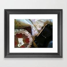A Lady's Treasure Framed Art Print