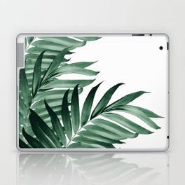 Palm Leaves Tropical Green Vibes #3 #tropical #decor #art #society6 Laptop & iPad Skin