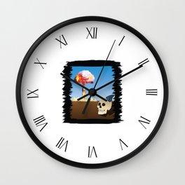 Fukushima Butterfly Wall Clock