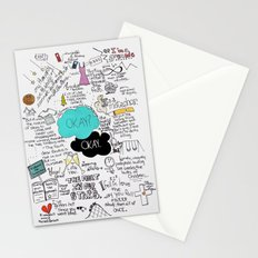 The Fault in Our Stars- John Green Stationery Cards