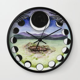 Bury What You Wish To Rise Wall Clock