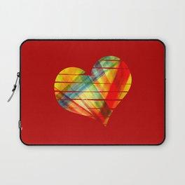 Vivid heart Laptop Sleeve