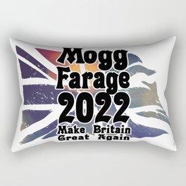 Mogg Farage 2022 Make Britain Great Again Rectangular Pillow