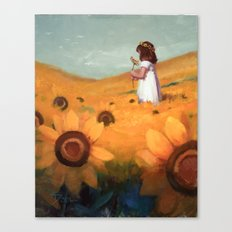Sunflower Sea Canvas Print