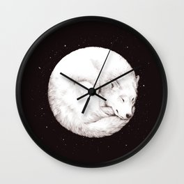 The Howl of the Moon Wall Clock