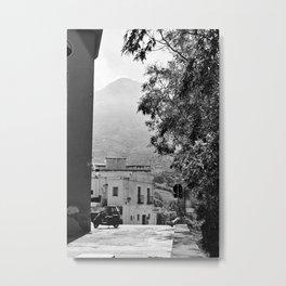 Stromboli Village Metal Print