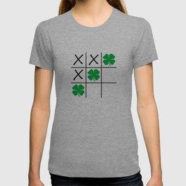Shamrock Tic Tac Toe T-shirt