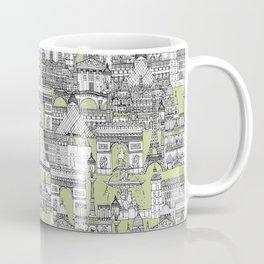Paris toile eau de nil Coffee Mug