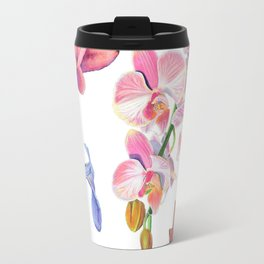 Flora and Fauna Pattern Travel Mug