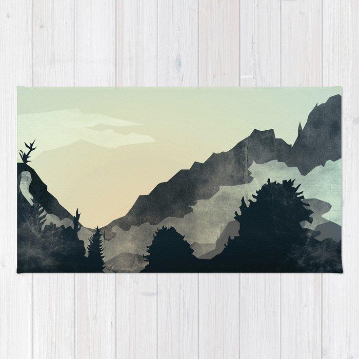 Misty Mountain Rug