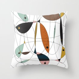 Fishing net Throw Pillow