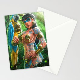 Indian Girl Stationery Cards