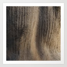 Weathered texture Art Print