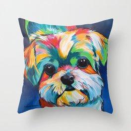Orion the Shih Tzu Throw Pillow