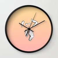 bath Wall Clocks featuring Bath by tallestfriend