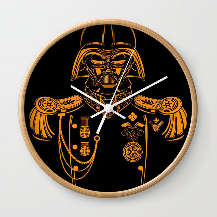 Marshal Darth Vader Wall Clock By Uriistiroti Society6