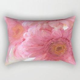 To Be Yourself - Flower Art Rectangular Pillow