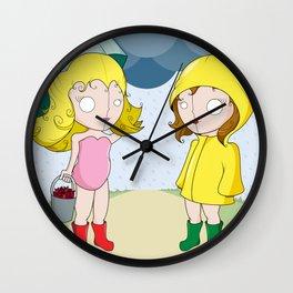 Crawfish Hunting Wall Clock