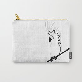 Cockatoo in line Carry-All Pouch