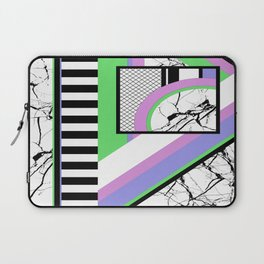 AMPS Deux - Abstract, Marble, Pastel, Stripes Laptop Sleeve