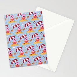 Peppa Pg Pattern 03 Stationery Cards