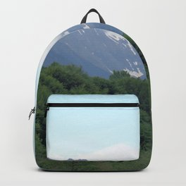 Breathtaking mountain view Backpack
