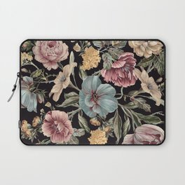 DARK FLORA Laptop Sleeve