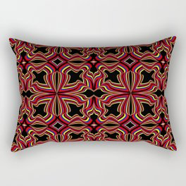 Primary Ruffles and Ridges Rectangular Pillow