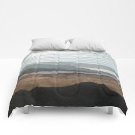 Salton Sea Landscape Comforters