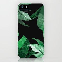 Tropical Palm Print #3 iPhone Case