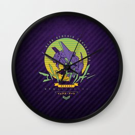 022 Evangelion Wall Clock