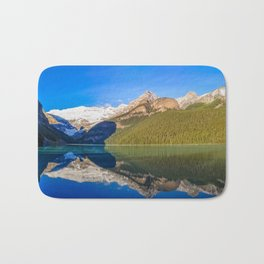 Lake Louise panorama, Canada. Bath Mat