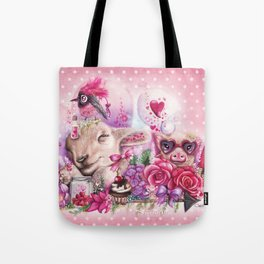 Dreaming of a Sweet Valentine Tote Bag