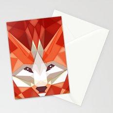 the glaring fox Stationery Cards