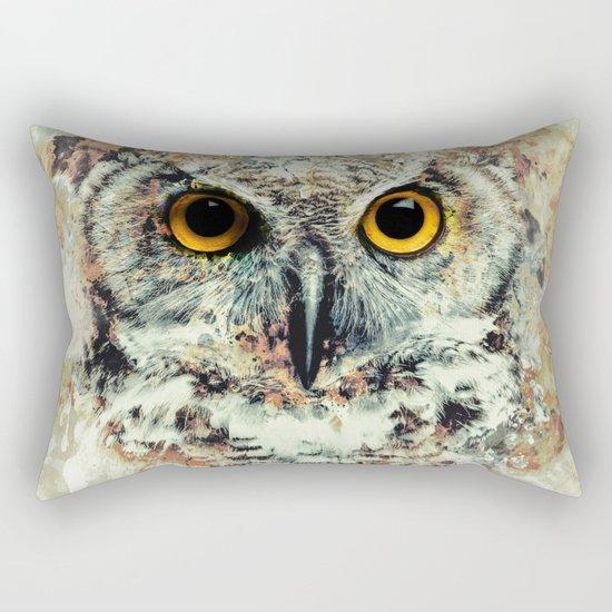 Owl II Rectangular Pillow