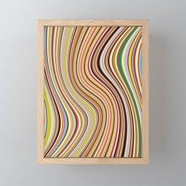 Old Skool Stripes - Flow Framed Mini Art Print