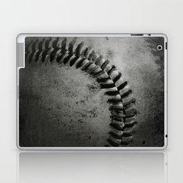 Black and white Baseball Laptop & iPad Skin