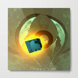 Space EGG Metal Print