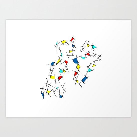 Problems Art Print