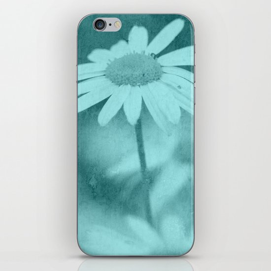 Floral art image iPhone & iPod Skin
